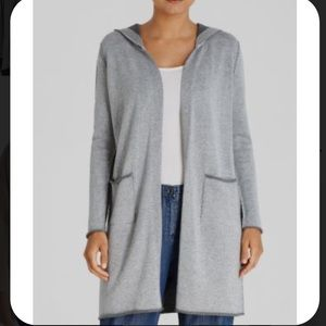 Eileen Fisher Gray Cardigan Size Small